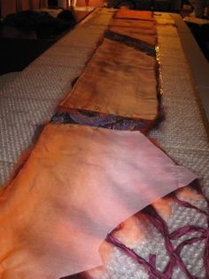 Nuno felting, Felting Supplies list - Tips and Tricks...GREAT PAGE!!!!