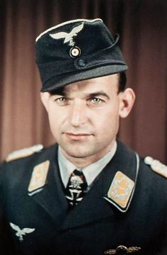 ✠Heinrich Bär, Bär flew more than one thousand combat missions, and fought in all major German theaters of the war, including the Western, Eastern and Mediterranean fronts. On 18 occasions he survived being shot down, and he was credited with 221 aerial victories,16 of which were in a Me-262 jet fighter.