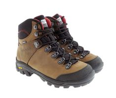 S-KARP Ascent - Brown/Red, Maro/Rosu - Clasical Outdoor Boot, waterproof, Vibram Trekking, Hiking Boots, Brown, Casual, Red, Outdoor, Shoes, Fashion, Outdoors