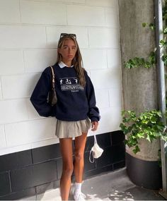 Check out these cute trendy skirt outfits! If you're looking for skirt outfits, these trendy outfits are perfect for inspiration #skirtoutfits #outfits #trendyoutfits