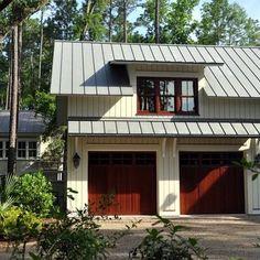 Charleston Home rustic garage door Design Ideas, Pictures, Remodel and Decor