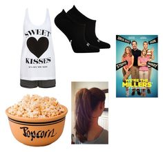 """Movie night"" by imaray98 ❤ liked on Polyvore featuring Forever 21, Puma, women's clothing, women's fashion, women, female, woman, misses and juniors"