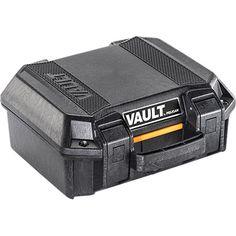 V100 Vault Small Pistol Case | Pelican Official Store Tactical Rifle Case, Tactical Rifles, Tactical Bag, Gopro Case, Equipment Cases, Pistol Case, Bow Cases, Small Case, Vaulting