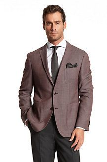 BOSS classic fit two button sport coat