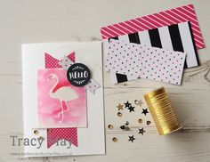 Pop of Paradise from Stampin' Up! Tracy May #CCMC409