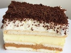 3 bit - ciasto bez pieczenia Food Cakes, Cupcake Cakes, Dessert Cake Recipes, Homemade Cakes, Healthy Desserts, Sweet Tooth, Food And Drink, Cooking Recipes, Sweets