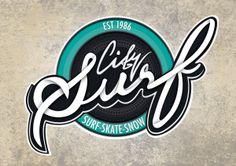 City Surf cardiff Branding (uni project) by Fearghas Gough, via Behance