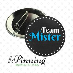 "Chalkboard Themed Gender Reveal Pinback Buttons | Baby Shower Game Team Mister | Team Miss  What do you think baby will be? Each guest wears a pinback button that corresponds with their gender guess. Great for baby showers and gender reveal parties.  This listing is for ten pinback button measuring 2.25 inches. Five Team Mister Five Team Miss  • Metal Pinback Feature – Increased durability • 2-1/4"" – Great size for comfort and visibility • Mylar cover protects the image  For more coordin..."