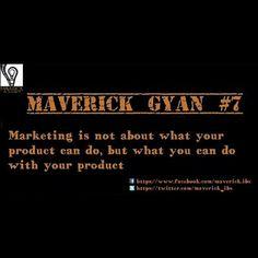 #maverickgyan #productmktng #innovativeselling #innovativethoughts