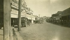 Main Street in Gympie, showing Cullinane's Department Store, 1936 / John Oxley Library, State Library of Queensland, Neg: 245783 http://hdl.handle.net/10462/deriv/118903   thefashionarchives.org