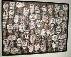 """Jean Dubuffet, """"Affluence (Attendance)"""" (1961)"""