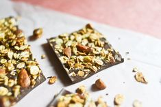 I have been dreaming about something like this for a long time, inspired both by the nut-studded chocolate bars one …
