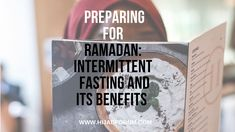 Ramadan is fast approaching and preparing is important to do especially for the long spring and summer fasting days. Intermittent fasting is a . Preparing For Ramadan, Eating Schedule, Gene Expression, T Set, Growth Hormone, Calorie Intake, Personal Goals, Muscle Mass, Intermittent Fasting