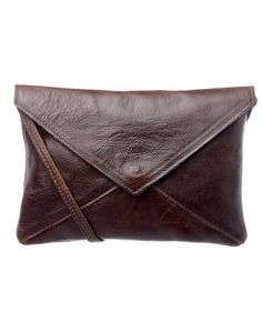 Leather Sling Bag in Treacle