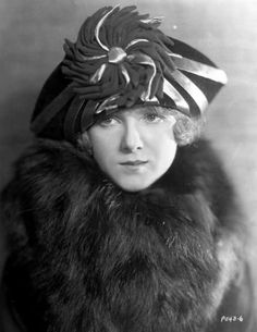 Pauline Garon wearing a hat