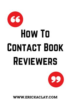 How to contact book reviewers - after publishing a book, there's this tricky little problem most authors have to overcome: getting people to read and review it. Fortunately, there's an entire segment of the blogging populace that not only does this very thing but can help you build your author street cred: book review bloggers.