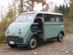 A 1955 DKW (later Audi) minivan.