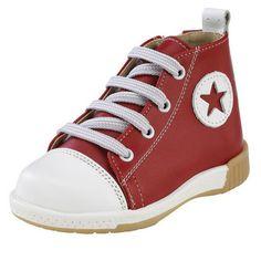 Παπούτσια βάπτισης για αγόρι δερμάτινο ανατομικό σε κόκκινο χρώμα PLA 150 High Tops, High Top Sneakers, Shoes, Fashion, Moda, Zapatos, Shoes Outlet, Fashion Styles, Shoe