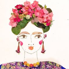 Happy Frida Friday everyoneone of my faves by @yucatansea  @sistergoldenshop PINNED by y Lezama Art.