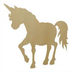 Unicorn Wooden Shape