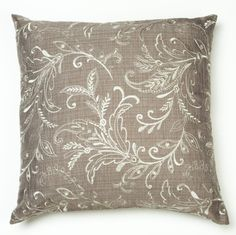 Kravet Embroidered Decorative Pillow Cover by CodyandCooperDesigns, $45.00
