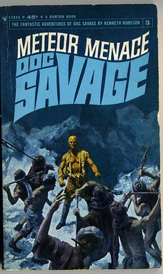 Doc Savage Cover, one of my all time favorites!