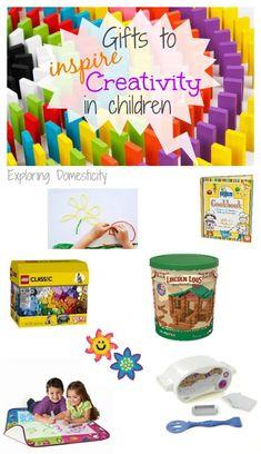 Gifts to Inspire Creativity in Children