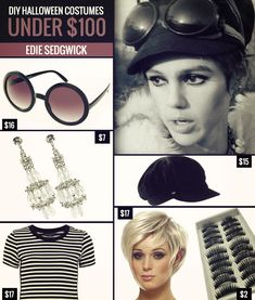 DIY Costumes Under $100: Andy Warhol's Factory Girl, Edie Sedgwick