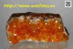 Minerales. Cuarzo citrino