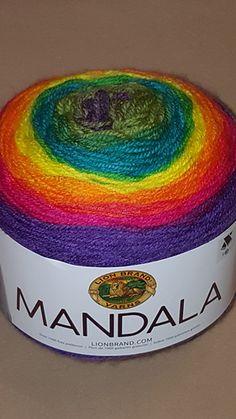 Ravelry: Lion Brand Mandala Bernat Pop, Mandala Yarn, Knitting Patterns, Crochet Patterns, Caron Cakes, Lion Brand, Knit Or Crochet, Wool Yarn, Twine
