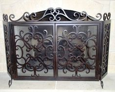 36 best iron fireplace screens images fireplace screens iron rh pinterest com