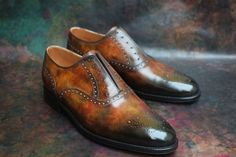 http://chicerman.com  dandyshoecare:  A special thanks to Mr. A.W. He is a great collector of footwear that expanded its collection of five spectacular pair of shoes with a Patina by Alexander Nurulaeff .  To all our readers we would like to recall that began a new collaboration of Dandy Shoe Care and J.FitzPatrick Footwear. You still have time to order the boots of your dream!  http://ift.tt/1T8SSyu  #menshoes