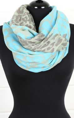 Leopard Print Scarf--I need this