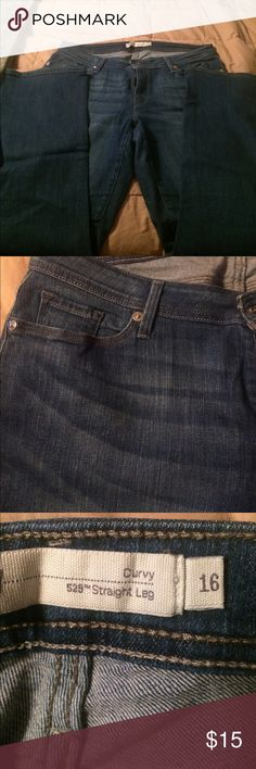 Levi jeans women's Nice and comfortable Levi jeans 529 Curvy straight legs. Non smoking house Levi's Jeans Boot Cut