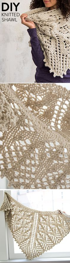 The Wild Prairie Knitted Shawl will soon be your favorite boho accessory.