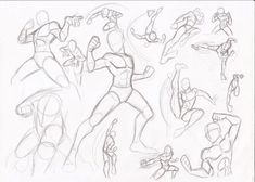 Cartoon Drawing Techniques Male poses - fighting by RikuGloomy - Action Pose Reference, Figure Drawing Reference, Drawing Reference Poses, Photo Reference, Drawing Poses Male, Hand Reference, Anatomy Reference, Guy Drawing, Drawing Base