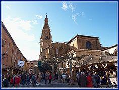 ¡¡Comienza el #viaje al #medievo!!... en las #FeriasDeLaConcepción de #SantoDomingoDeLaCalzada #LaRiojaApetece