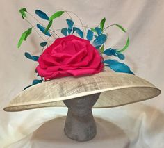 Kentucky Derby Hat by FinchyBabyHats #KentuckyDerby #DerbyHat #Racingfashion #DerbyFashion
