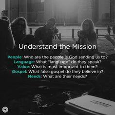 Every community and mission is unique. The cookie cutter doesn't  even exist. However, the best place to start is to listen to the people you are sent to and reflect on how their lives might intersect the gospel and community. Here are five sets of questions to help you move forward in discipling others as a community with the gospel.