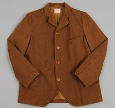 """RAUSCHENBERG"" JACKET, YELLOW BROWN :: HICKOREE'S"
