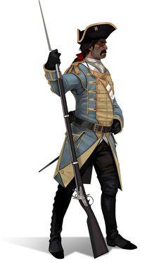 Okirionský Muž ve zbrani (voják s mušketou)