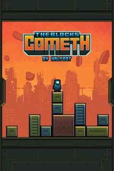 The Blocks Cometh, a non-stop jumping game for iOS by Halfbot