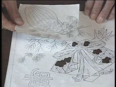 ▶ 下町に息づく伝統の技 江戸刺繍1/3 - YouTube