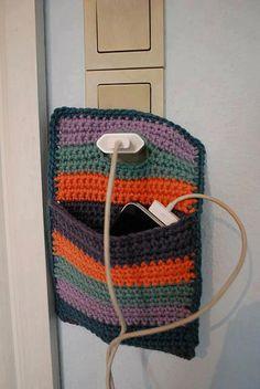 para guardar celular mientras se carga
