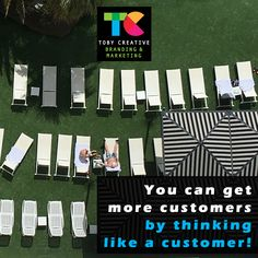 You can get more customers by thinking like a customer!  Understand your target demographic, identify your ideal consumer persona, and target your marketing to match your customer requirements with Toby Creative - Branding & Marketing Perth.   Phone (08) 9386 3444 or visit https://tobycreative.com.au/   #tobycreative #branding #marketing #strategy #implementation #management #reporting