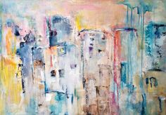 Stad in pastel