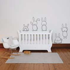 The tallest bunny is approximately high. When placed next to each other they can cover an area of 130 x Princess Bedrooms, Thick Cardboard, Height Chart, Smooth Walls, Card Sizes, Poster Wall, Glass Door, Grey And White, Kids Room