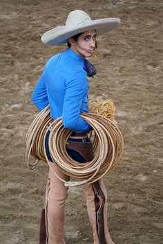 Charro - Mexico that's a lot of rope