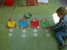 Emmerspel Mogelijkheden: één-één-relatie, schelpen leggen met getalbeelden, schelpen leggen met getallen, meeste/minste/evenveel