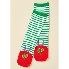 Out of Print In an Appetite Spot Socks ($12) ❤ liked on Polyvore featuring intimates, hosiery, socks, dot socks, patterned hosiery, stripe socks, polka dot socks and patterned socks
